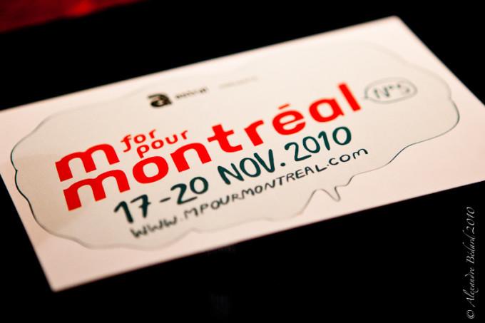 Conference de Presse M pour Montreal 2010