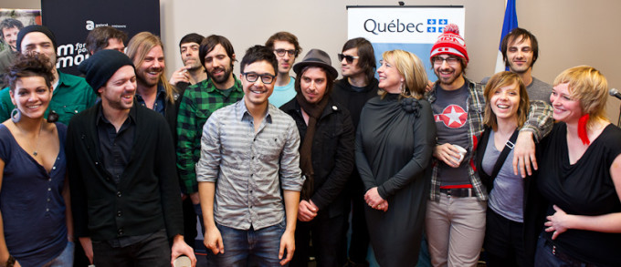 Plus de soixante artistes et entrepreneurs quebecois participeront au festival South by Southwest au Texas