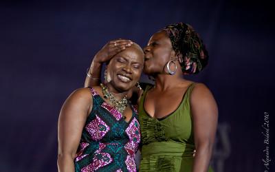 Angélique Kidjo et Marie-Josée Lord