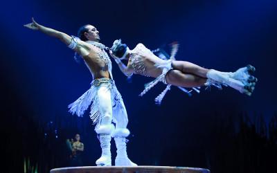 Totem du cirque du soleil, le 28 avril 2010, montreal,