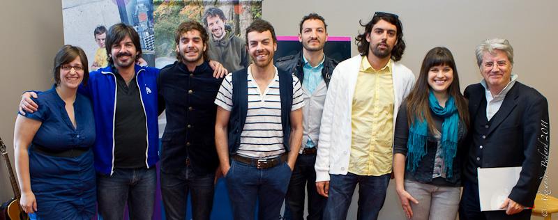 Participants quebecois au francofolies de spa