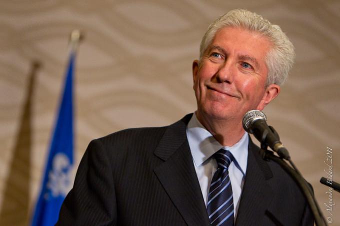 Gilles Duceppe fait un dernier caucus au Bloc Québécois