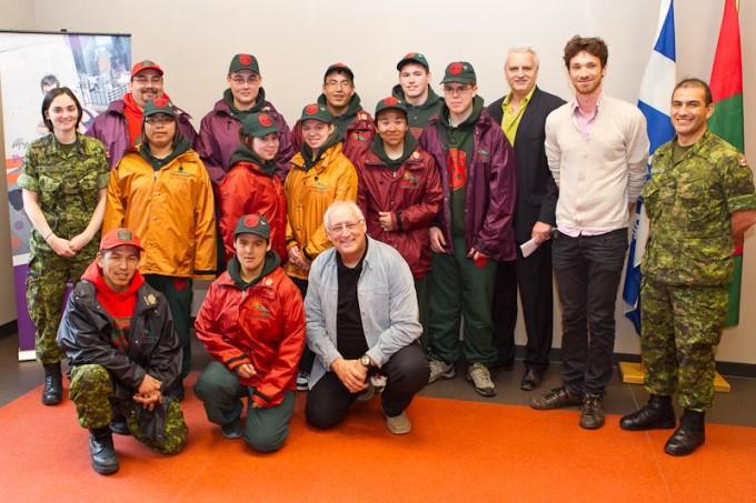 Neuf Rangers juniors participeront avec Bernard Voyer à une expédition  dans les Andes au Pérou