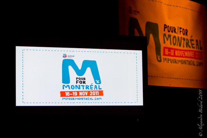 Conference de presse M pour Montreal 2011 / M pour Montreal press conference
