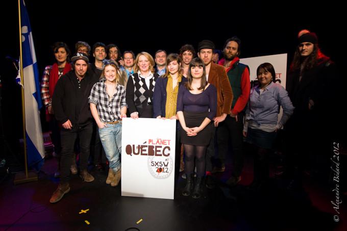 Dévoilement de la programmation de Planète Québec à South by Southwest 2012