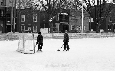 Hockey dans Griffintown
