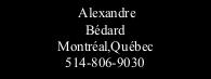 Alexandre Bédard Photographe 514-806-9030